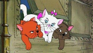 Gli Aristogatti: un'immagine del cartone animato Disney