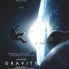 Gravity: la locandina italiana del film