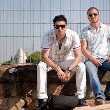 Il futuro: Alessandro Giallocosta e Nicolas Vaporidis in una scena del film