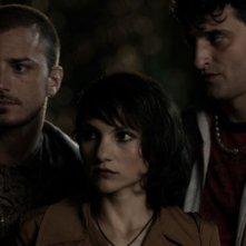 Il futuro: Alessandro Giallocosta insieme a Manuela Martelli e Nicolas Vaporidis in una scena