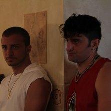 Il futuro: Alessandro Giallocosta insieme a Nicolas Vaporidis in una scena