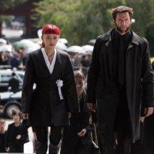 Wolverine: L'immortale - Hugh Jackman e Rila Fukushima in una scena del film