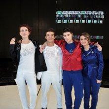 Amici 12: i quattro finalisti del programma di Maria De Filippi: Verdiana Zangaro, Moreno Donadoni, Greta Manuzi, Nicolò Noto.