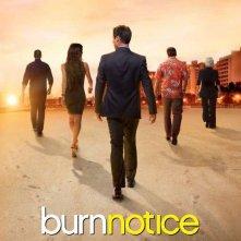 Burn Notice: un poster dell'ultima stagione