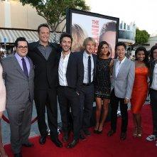 Gli stagisti: il cast del film sul red carpet della premiere del film a Los Angeles