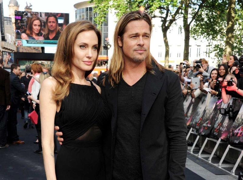 World War Z: Brad Pitt e Angelina Jolie posano insieme sul red carpet della premiere londinese