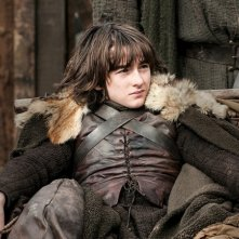 Il trono di spade: Isaac Hempstead-Wright in una scena di The Rains of Castamere