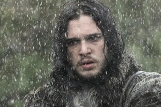 Il trono di spade: Kit Harington in una scena di The Rains of Castamere