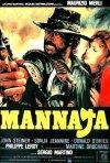 Mannaja: la locandina italiana del film western diretto da Sergio Martino