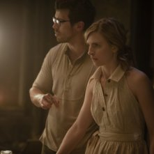 The East: Brit Marling in una scena del film on Toby Kebbell