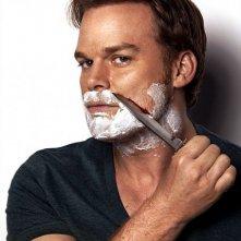 Dexter: Michael C. Hall in una foto promozionale della stagione 8