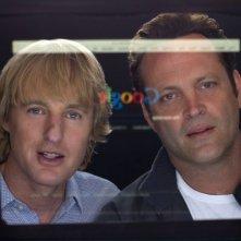 Gli stagisti: Owen Wilson in una scena del film insieme a Vince Vaughn