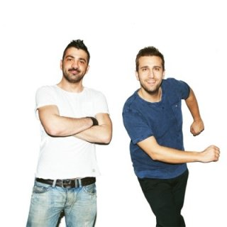 Quasi quasi amici: Pio e Amedeo in una foto promozionale del film