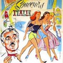 Souvenir d'Italie: la locandina francese del film