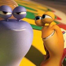 Turbo: Whiplash e Turbo in una delle prime immagini della commedia animata