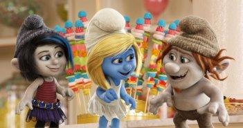 I Puffi 2: Pestifera e Frullo con Puffetta nella prima immagine ufficiale del film