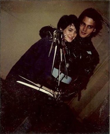 Johnny Depp e Winona Ryder ai tempi di 'Edward mani di forbice'