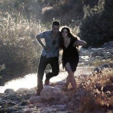 Salvo: Sara Serraiocco e Saleh Bakri fuggono in una scena del film