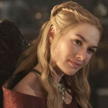 Il trono di spade: Lena Headey in una scena dell'episodio Mhysa