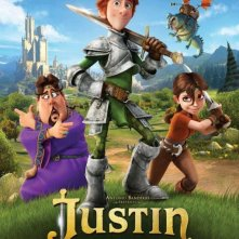 Justin and the Knights of Valour: locandina del film