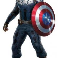 Captain America - Il soldato d'Inverno: Chris Evans nella nuova uniforme