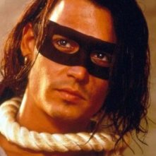 Johnny Depp in Don Juan De Marco, maestro d'amore.