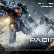 Pacific Rim: robot mostruosi nel nuovo artwork del film