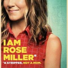 Come ti spaccio la famiglia: il character poster di Jennifer Aniston