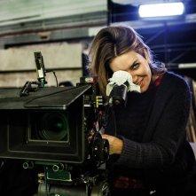 La trattativa: Sabina Guzzanti sul set del film
