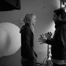 The East: Brit Marling sul set con il regista Zal Batmanglij