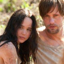 The East: Ellen Page in una scena del thriller con Alexander Skarsgård