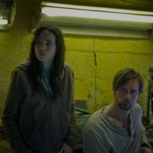 The East: Ellen Page in una scena del thriller insieme a Alexander Skarsgård
