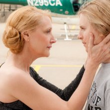 The East: Patricia Clarkson in una scena del film con Brit Marling