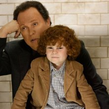 Billy Crystal in Parental Guidance con il nipotino pestifero Kyle Harrison Breitkopf