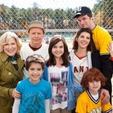 Foto di famiglia sul set di Parental Guidance