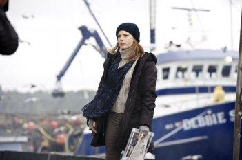 L'uomo d'acciaio: Amy Adams è Lois Lane in una scena del film