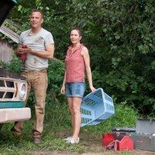 L'uomo d'acciaio: Kevin Costner e Diane Lane in una scena del film