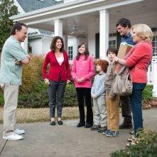 La famiglia al completo in una scena di Parental Guidance