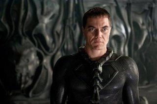 Michael Shannon è il Generale Zod ne L'uomo d'acciaio