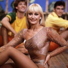 Una foto di Raffaella Carrà negli anni Ottanta