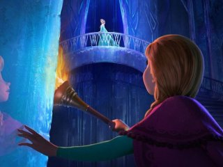 Frozen: le protagoniste in azione