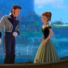 Frozen: un momento di romanticismo