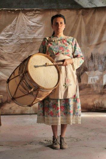 Violeta Went to Heaven: Francisca Gavilán è Violeta Parra in una scena