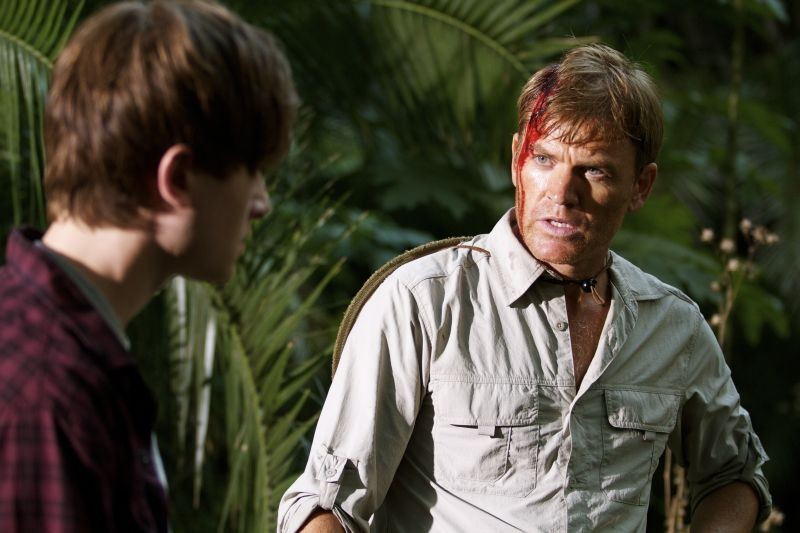 The Dinosaur Project Richard Dillane E Matt Kane In Una Scena Del Film 278534