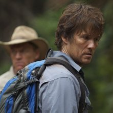 The Lost Dinosaurs: Peter Brooke in una scena