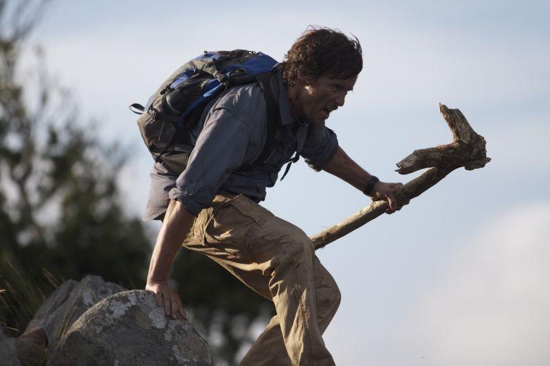 The Lost Dinosaurs Peter Brooke In Una Scena Del Film Sui Dinosauri Ambientato Nelle Foreste Del Con 278532