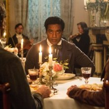 Twelve Years a Slave: Chiwetel Ejiofor a tavola
