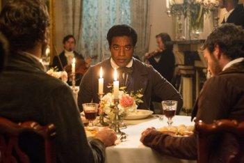 Twelve Years a Slave: Chiwetel Ejiofor a tavola