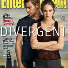 Divergent: Shailene Woodley e Theo James sulla copertina di Entertainment Weekly