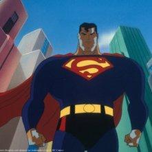 Le avventure di Superman: una scena della serie